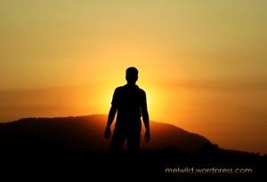 man_sunset